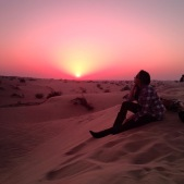 Sand Dunes and Sunsets, Dubai