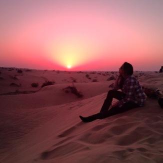 Sand Dunes and Sunsets, Dubai