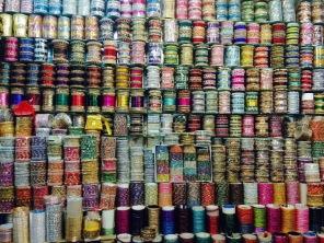 Stall of Bangles, Gulf Bazaar
