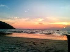 Sunset at Ao Prao, Koh Samet