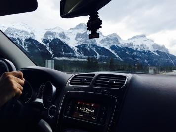 En Route to Banff