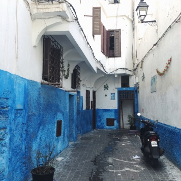Alleys of the Ancienne Medina, Casablanca