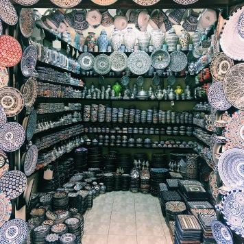 A ceramic lover's heaven, Fes el Bali Medina