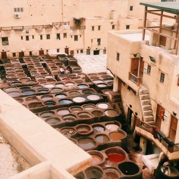 Chouwara Tanneries, Fes