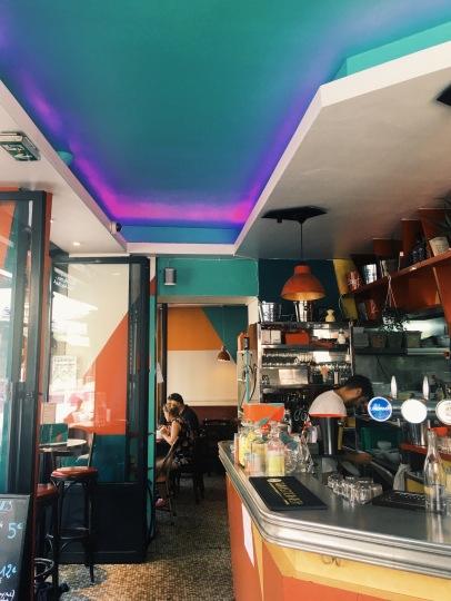 French cafe aesthetics