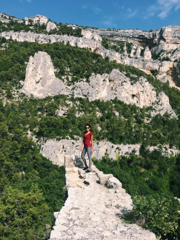 Fontaine de Vaucluse - Views from above