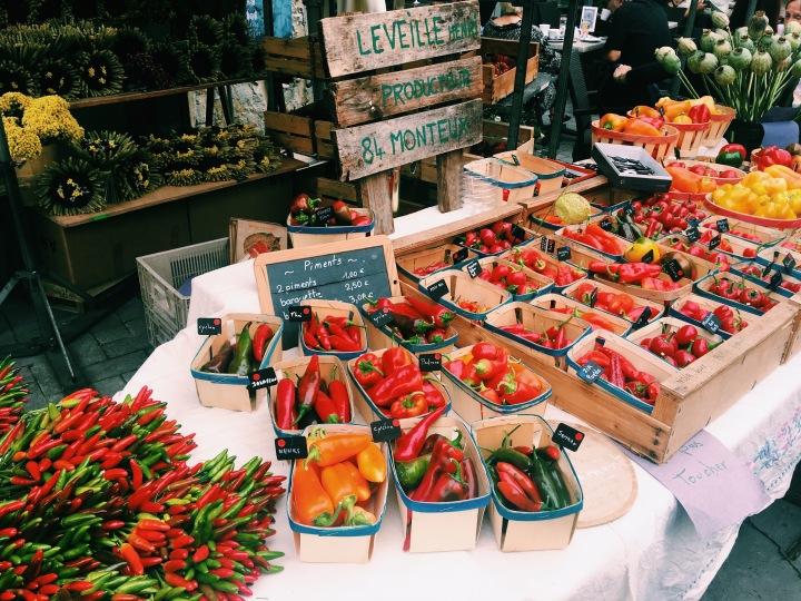 Fresh chillis & peppers, L'Isle sur la Sorgue