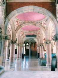 Sant Pau Recinte Modernista, Interiors