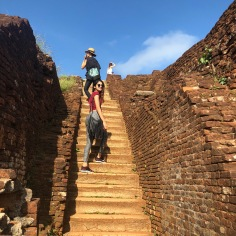UNESCO world heritage site, sigiriya rock, sri lanka tourism, sights of sri lanka, ancient ruins, rock-climbing