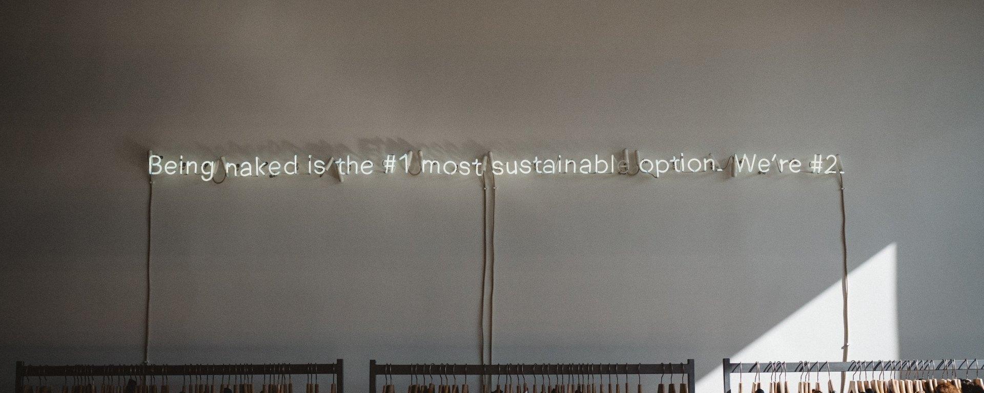 fashion sustainability