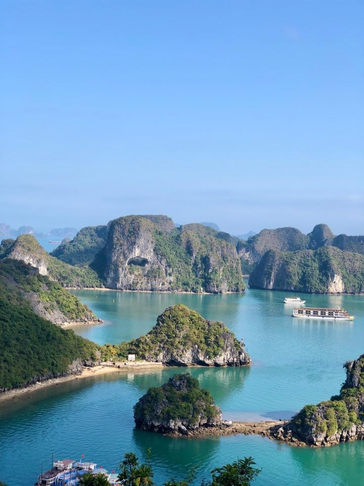 halong bay, tour, scenic, hanoi, travel, explore, vietnam, titop peak