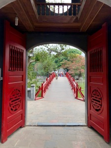 hanoi, vietnam, ngoc son pagoda, temples of vietnam, temples, cultural, lunar new year, solo travel