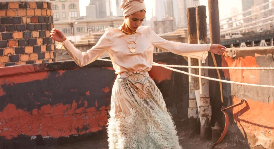 the modist, fashion, hijabi, muslim, style, outfit, editorial
