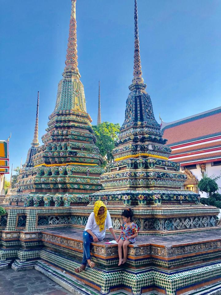 thailand, bangkok, temples, asia, travel, explore, mashal mush, saras henna