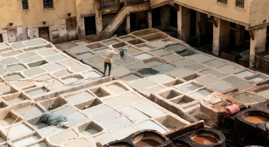 leather, tanneries, morocco, fashion, pollution, climate change