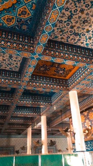 Interiors of Abdullah Shah Ghazi Mazaar