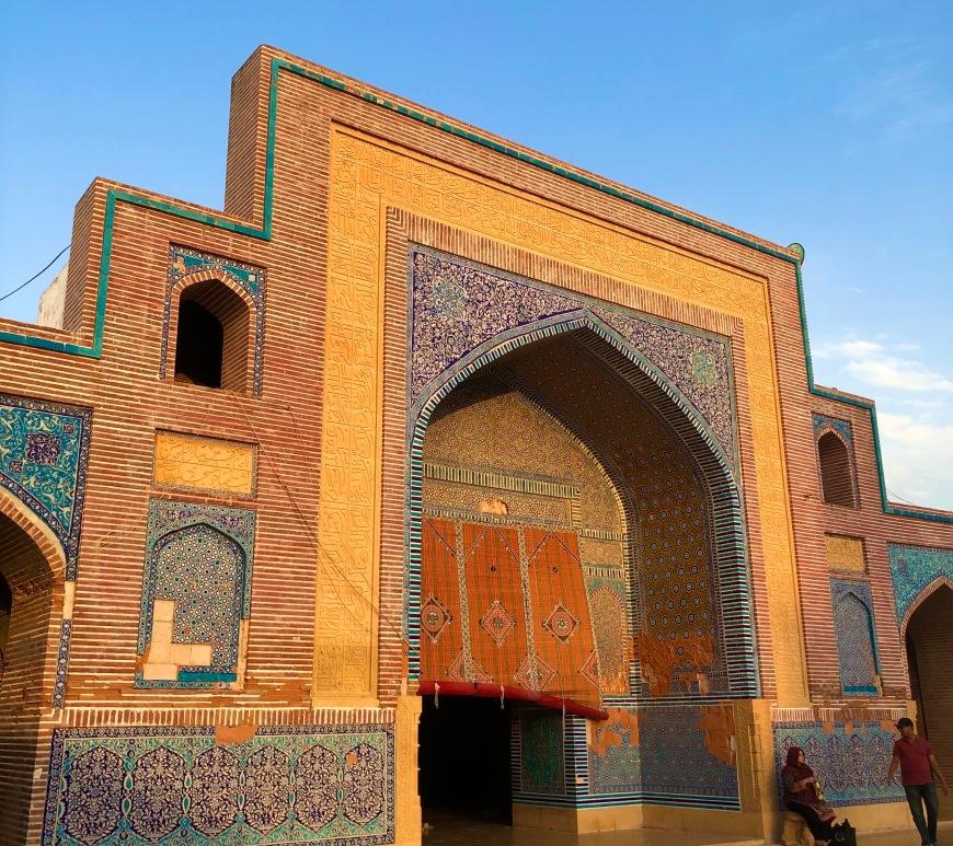 shahjahan mosque, thatta, sindh, explore pakistan